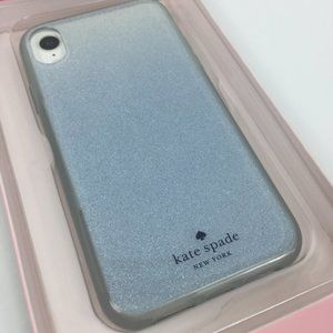 NEW Kate Spade Ombre Glitter Iphone XS/X Case